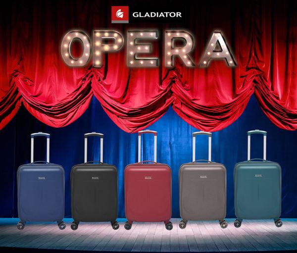 maletas de viaje opera de gladiator