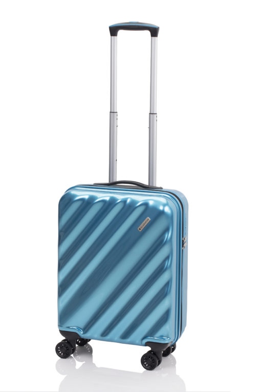 maleta glam de gladiator azul celeste