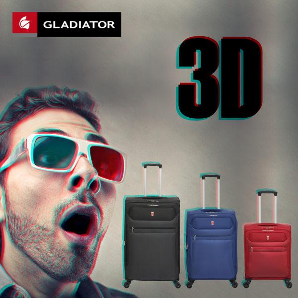 maletas de viaje gladiator