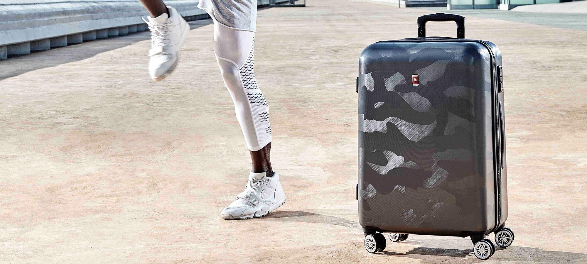 maleta de viaje rebel camuflaje